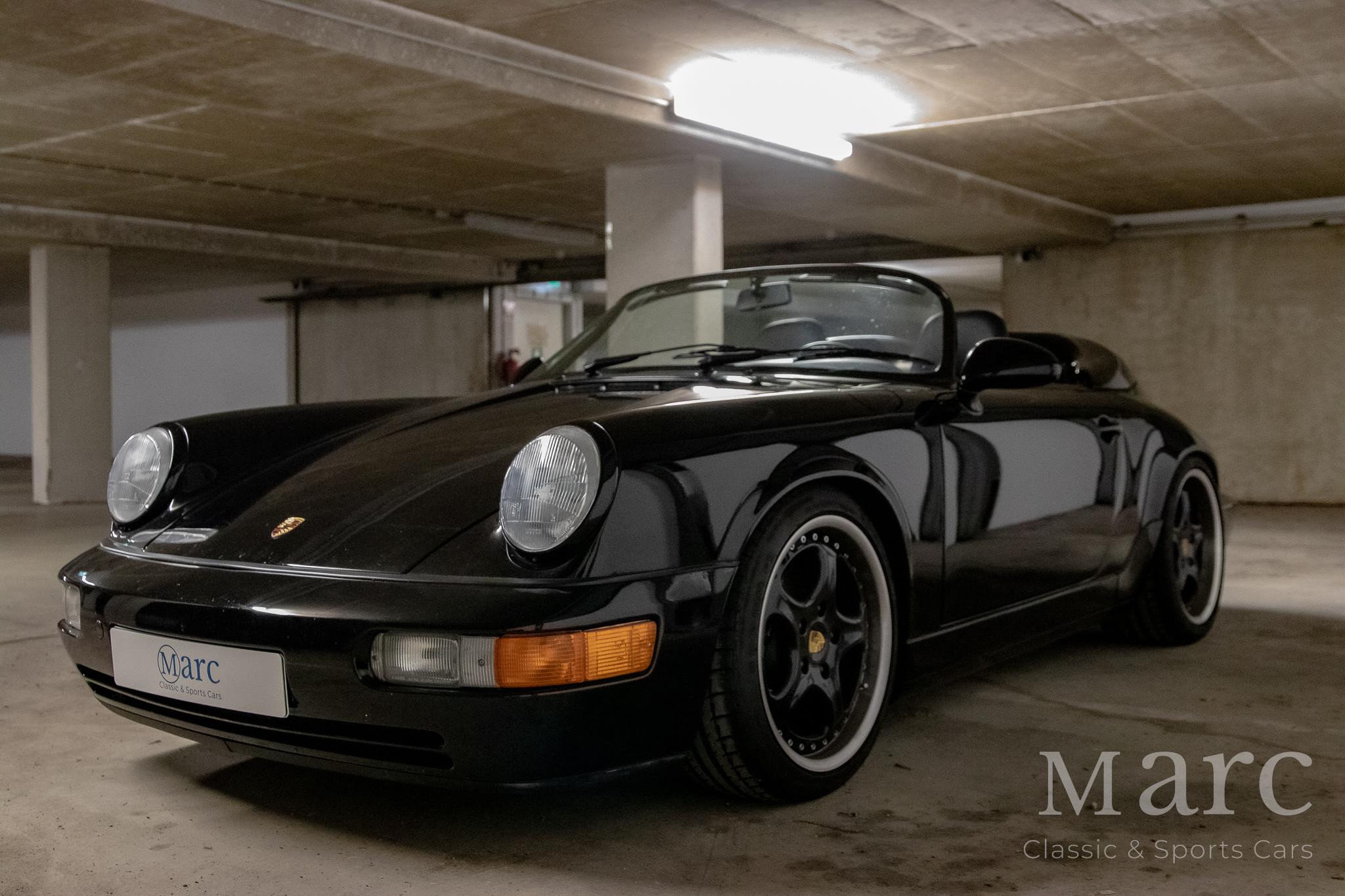 Porsche 964 Speedster bei marc sportscars